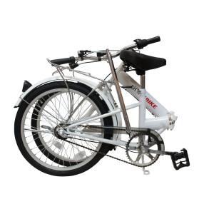 Foldecykel foldet sammen